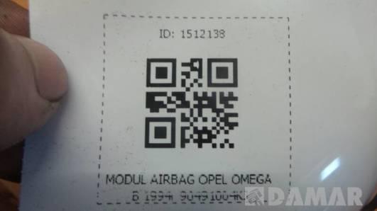 90491004KJ MODUL AIRBAG OPEL OMEGA B 1994r