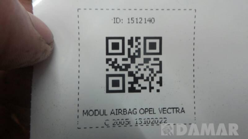 13102022 MODUL AIRBAG OPEL VECTRA C 2005r