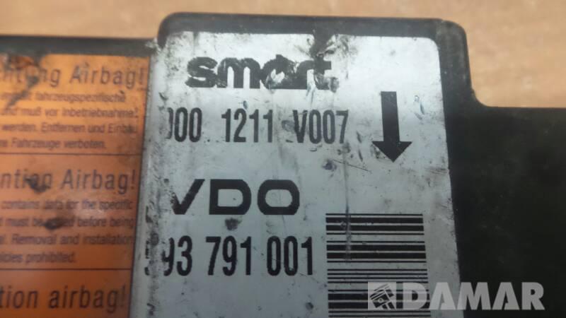 0001211V007 MODUL AIRBAG SMART FORTWO 0.8 1998r