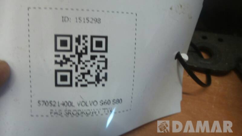 570521400L PAS SRODKOWY TYL VOLVO S60 S80