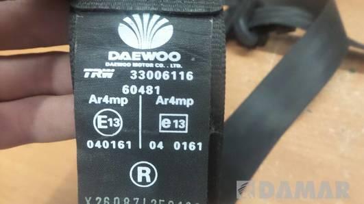 33006116 PAS PRAWY PRZOD DAEWOO NUBIRA II