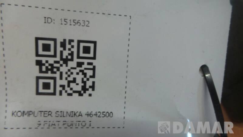 KOMPUTER SILNIKA 46425009 FIAT PUNTO I