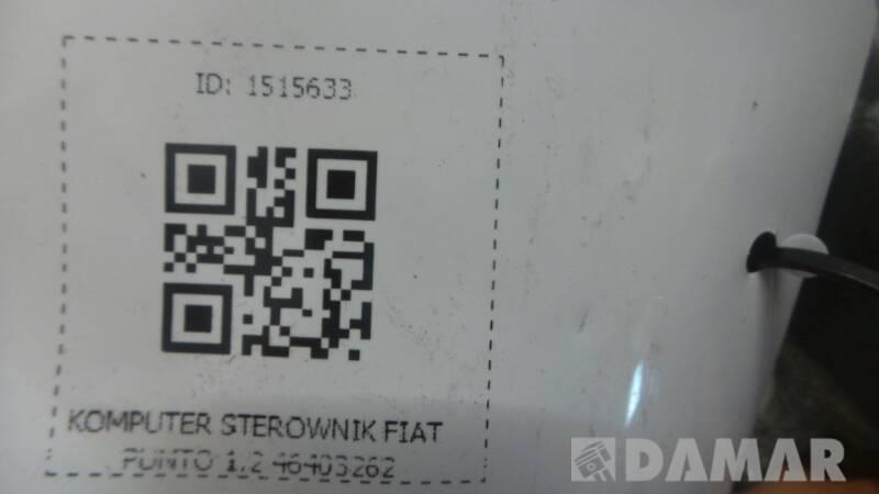 KOMPUTER STEROWNIK FIAT PUNTO 1.2 46403262