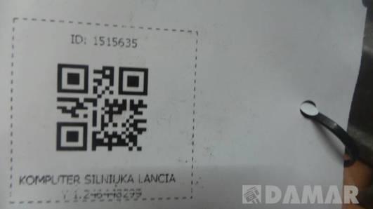 KOMPUTER SILNIKA LANCIA Y 1.2 46448299 IAW16F.ET
