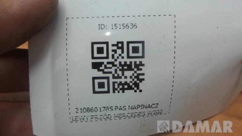 2108601785 PAS NAPINACZ LEWY PRZÓD MERCEDES W202