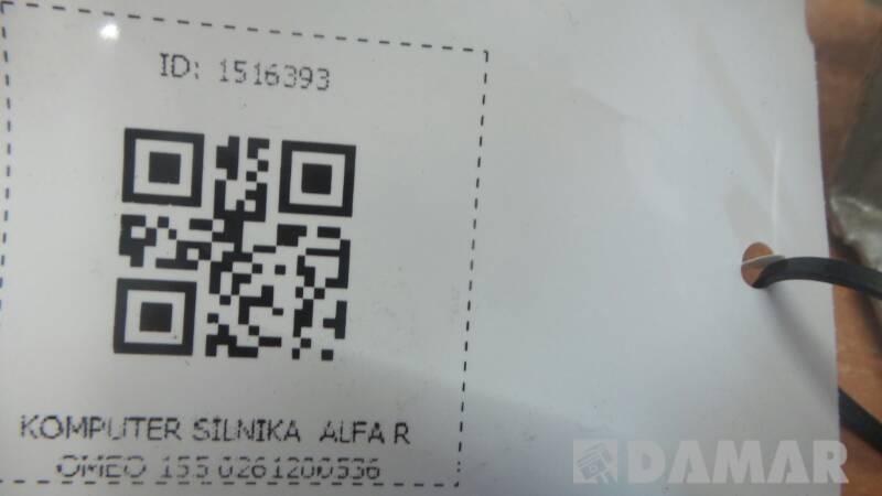 0261200536 KOMPUTER SILNIKA  ALFA ROMEO 155