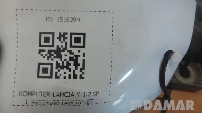 46524188 KOMPUTER LANCIA Y 1.2 SPI  IAW16F.ET