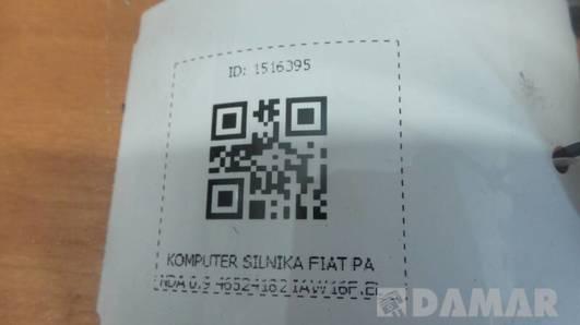 46524182 KOMPUTER SILNIKA FIAT PANDA 0.9 IAW16F.EL