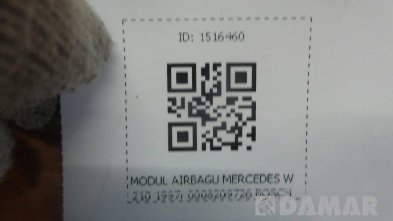 0008209726 MODUL AIRBAGU MERCEDES W210 1997r BOSCH