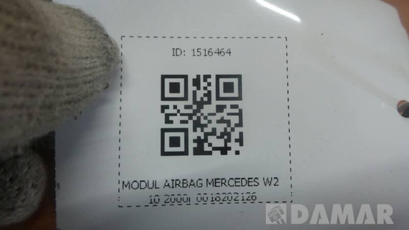 0018202126 MODUL AIRBAG MERCEDES W210 2000r
