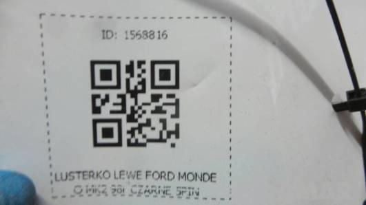 LUSTERKO LEWE FORD MONDEO MK2 98r CZARNE 5PIN