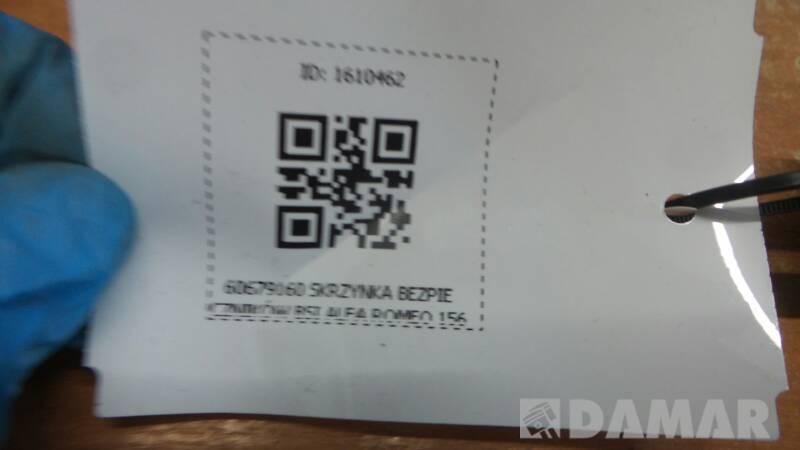 60679160 SKRZYNKA BEZPIECZNIKOW BSI ALFA ROMEO 156