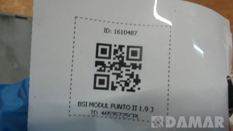 46535725CPL BSI MODUL PUNTO II 1.9 JTD