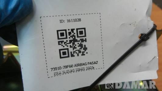73910-78F60 AIRBAG PASAZERA SUZUKI IGNIS 2005r