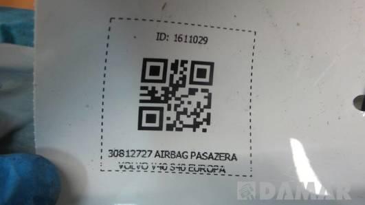 30812727 AIRBAG PASAZERA VOLVO V40 S40 EUROPA