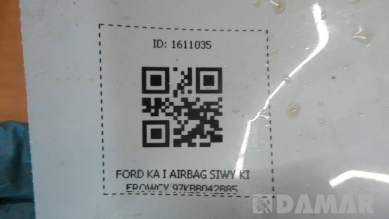 97KBB042B85  AIRBAG SIWY KIEROWCY FORD KA I