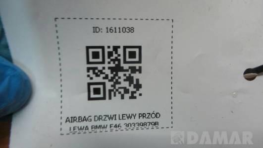 30339879B AIRBAG DRZWI LEWY PRZOD LEWA BMW E46