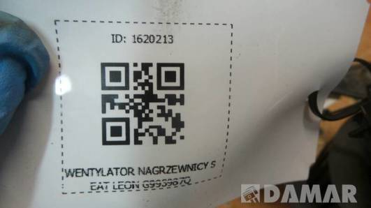 WENTYLATOR NAGRZEWNICY SEAT LEON G993987Q