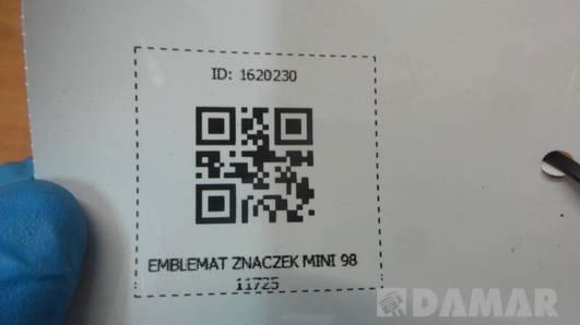 9811725 EMBLEMAT ZNACZEK MINI