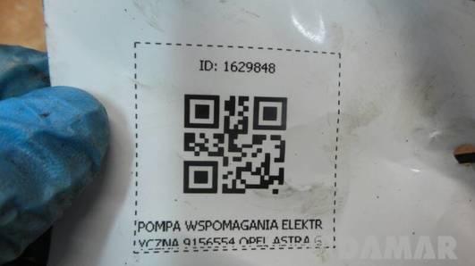 POMPA WSPOMAGANIA ELEKTRYCZNA 9156554 OPEL ASTRA G