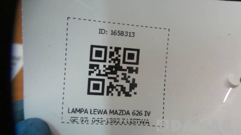 043-1392 LAMPA LEWA MAZDA 626 IV GE 97r Z LISTWA