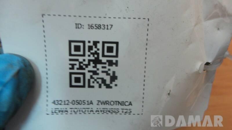 43212-05051 ZWROTNICA LEWY PRZOD AVENSIS T25