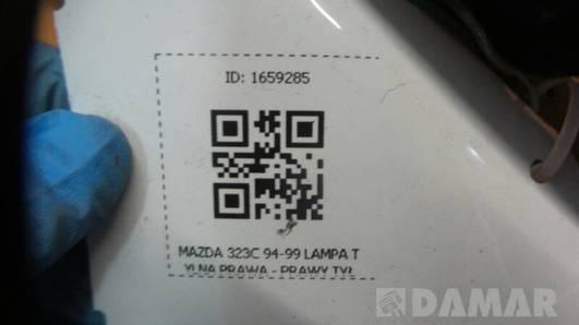 043-1436R LAMPA TYLNA PRAWA MAZDA 323C 94-99