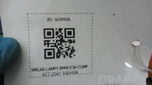 9404428 WKLAD LAMPY LEWY BMW E36 COMPACT