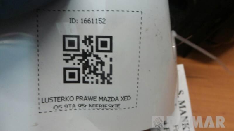 LUSTERKO PRAWE MAZDA XEDOS 9TA 95r NIEBIESKIE