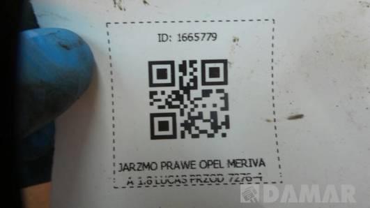 JARZMO PRAWE OPEL MERIVA A 1.8 LUCAS PRZOD 7276-4