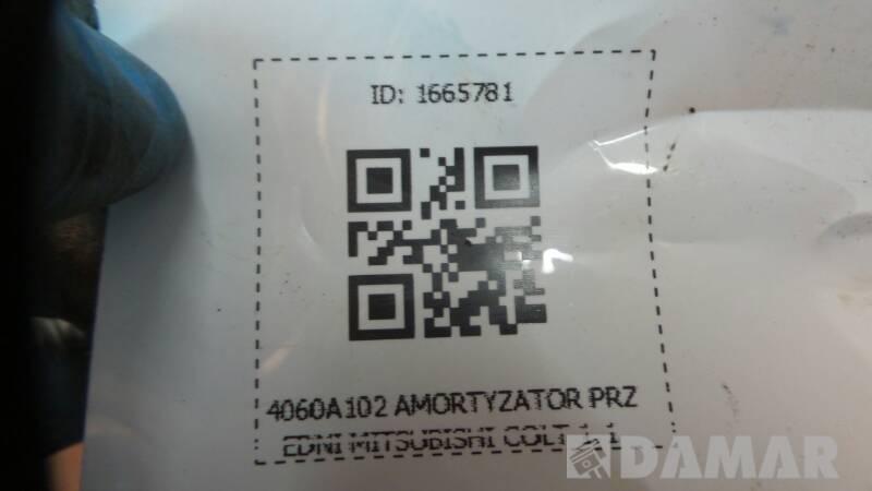 4060A102 AMORTYZATOR PRZEDNI MITSUBISHI COLT 1.1