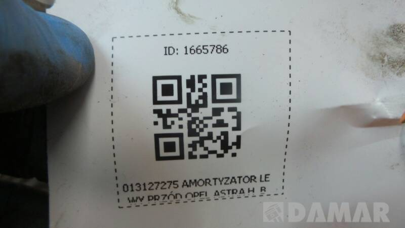013127275 AMORTYZATOR LEWY PRZOD OPEL ASTRA H  B