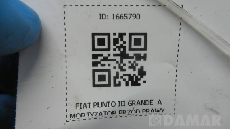 AMORTYZATOR PRZOD PRAWY FIAT PUNTO III GRANDE