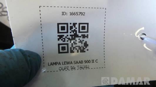 LAMPA LEWA SAAB 900 II COUPE 96r TALMU