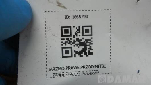 JARZMO PRAWE PRZOD MITSUBISHI COLT VI 1.1 2008r