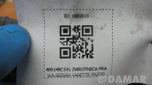 400149C541 ZWROTNICA PRAWA NISSAN SERENA 2.3