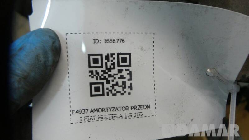 E4937 AMORTYZATOR PRZEDNI FIAT MULTIPLA 1.9 JTD