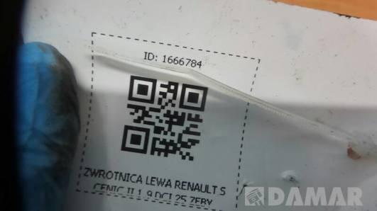 ZWROTNICA LEWA RENAULT SCENIC II 1.9 DCI 25 ZEBY