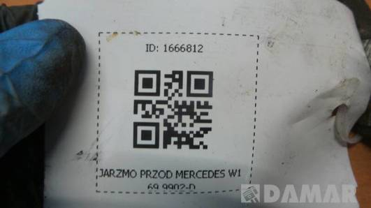 9902-D JARZMO PRZOD MERCEDES W169