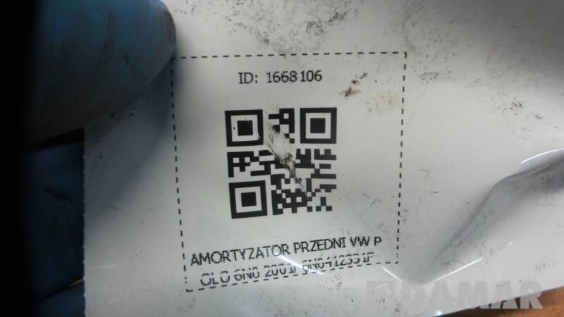 6N0412331F AMORTYZATOR PRZEDNI VW POLO 6N0 2001r