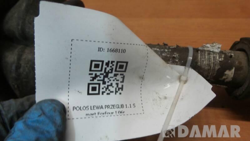 POLOS LEWA PRZEGUB SMART FORFOUR I 1.1 06r