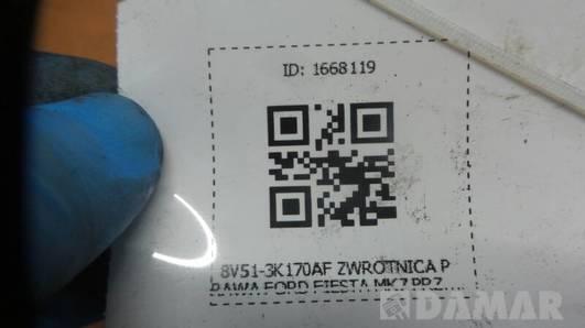 8V51-3K170AF ZWROTNICA PRAWA FORD FIESTA MK7 PRZOD