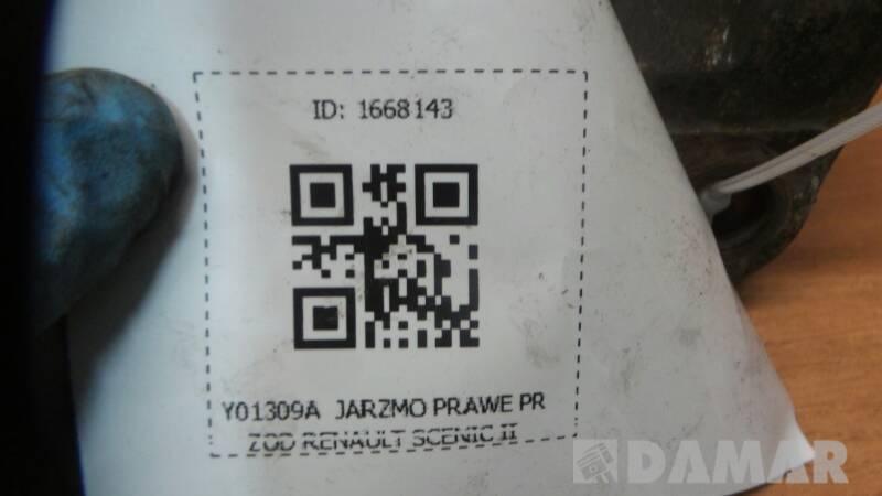 Y01309A  JARZMO PRAWE PRZOD RENAULT SCENIC II