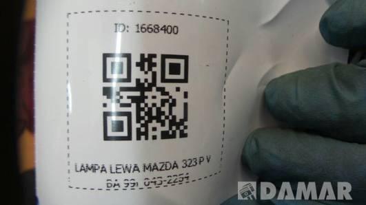 043-2254L LAMPA LEWA MAZDA 323 P V BA 99r