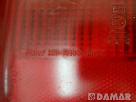 LAMPA LEWA TYLNA DAIHATSU CUORE II 88r 220-51486 L