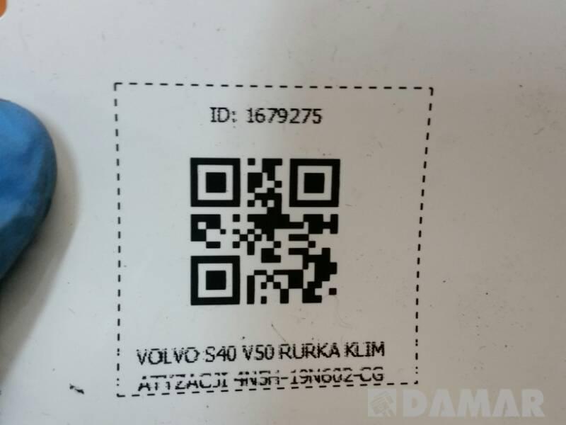 4N5H-19N602-CG RURKA KLIMATYZACJI VOLVO S40 V50