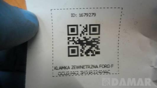 3M51R22404AC KLAMKA ZEWNETRZNA FORD FOCUS MK2