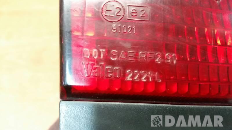 LAMPA KLAPY LEWA ROVER 800 SEDAN 92r VALEO EUROPA
