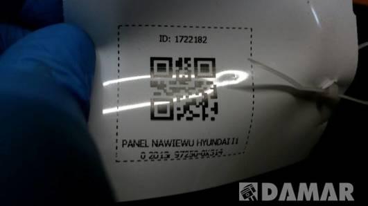 97250-0X3104X  PANEL NAWIEWU HYUNDAI I10 2013r