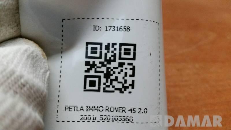 52010356B PETLA IMMO ROVER 45 2.0 2001R